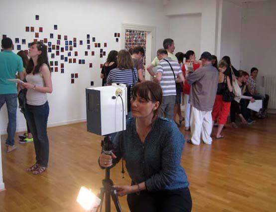 Photo d'aura, Dorothée Baumann, Musée des Beaux-arts