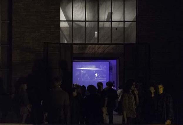 Projection à DMC, photo Pascal Bichain