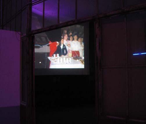 Projection Joachim Schmid à DMC