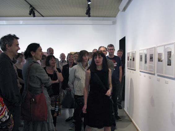 Visite avec Nathalie Wolff et Matthias Bumiller, bibliothèque Grand'Rue