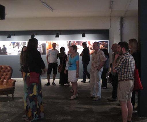 Visite avec Laura Martin, Galerie Hors Champ